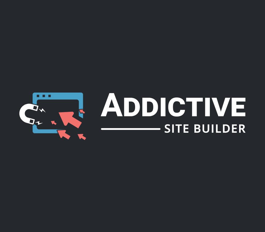 addictive site builder theme