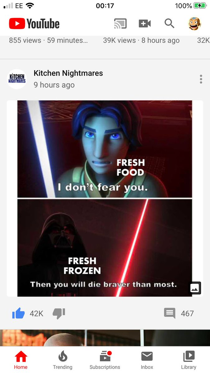 Gordon Ramsay is now posting Star Wars Rebels memes on his YouTube. My life is complete StarWarsRebels StarWars