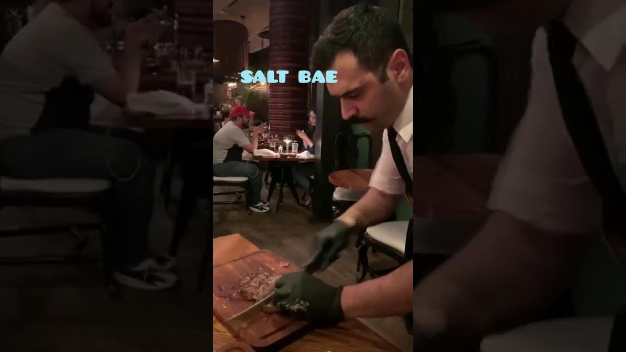 Salt bae Dubai mejor restaurante de carne