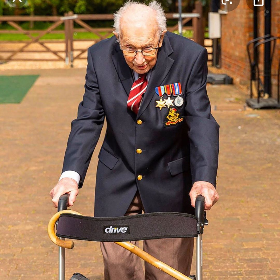 Happy 100th Birthday to this incredible man now the Honorary Colonel of the British Army, hes raise…