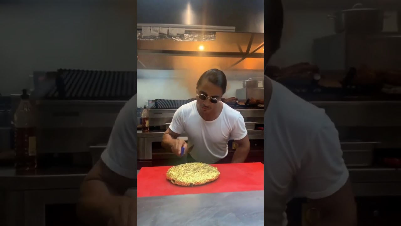 Golden cheeseburger by SalTBae Nusret Subscribe for more