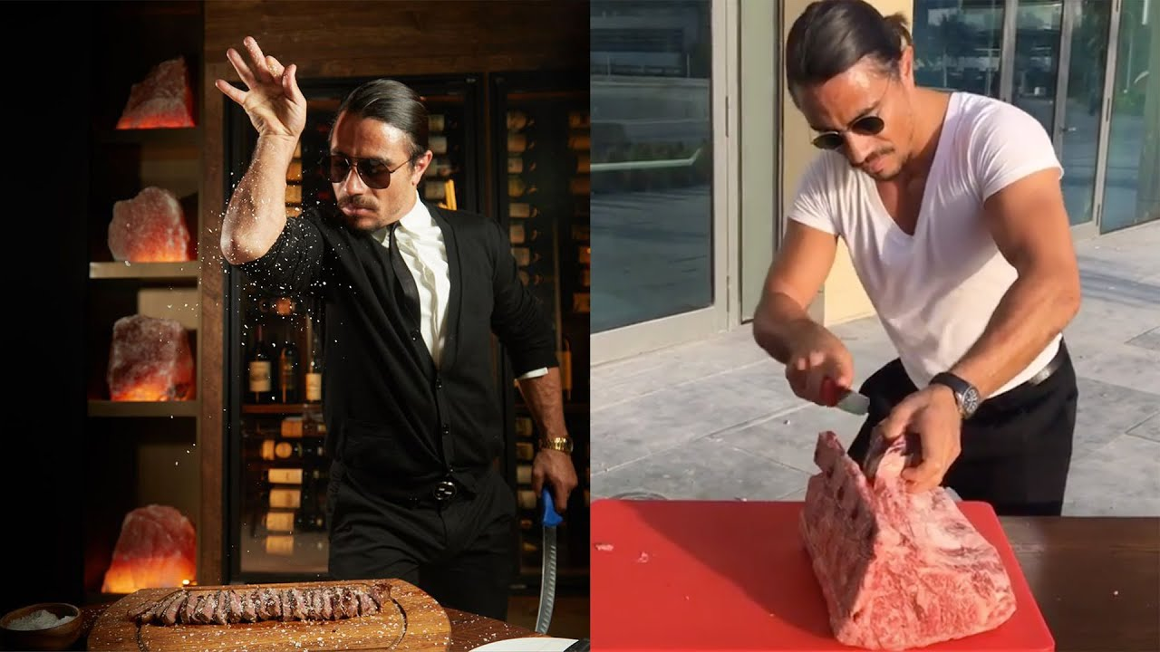 Worlds Best Amazing Chef Salt Bae Food 2020