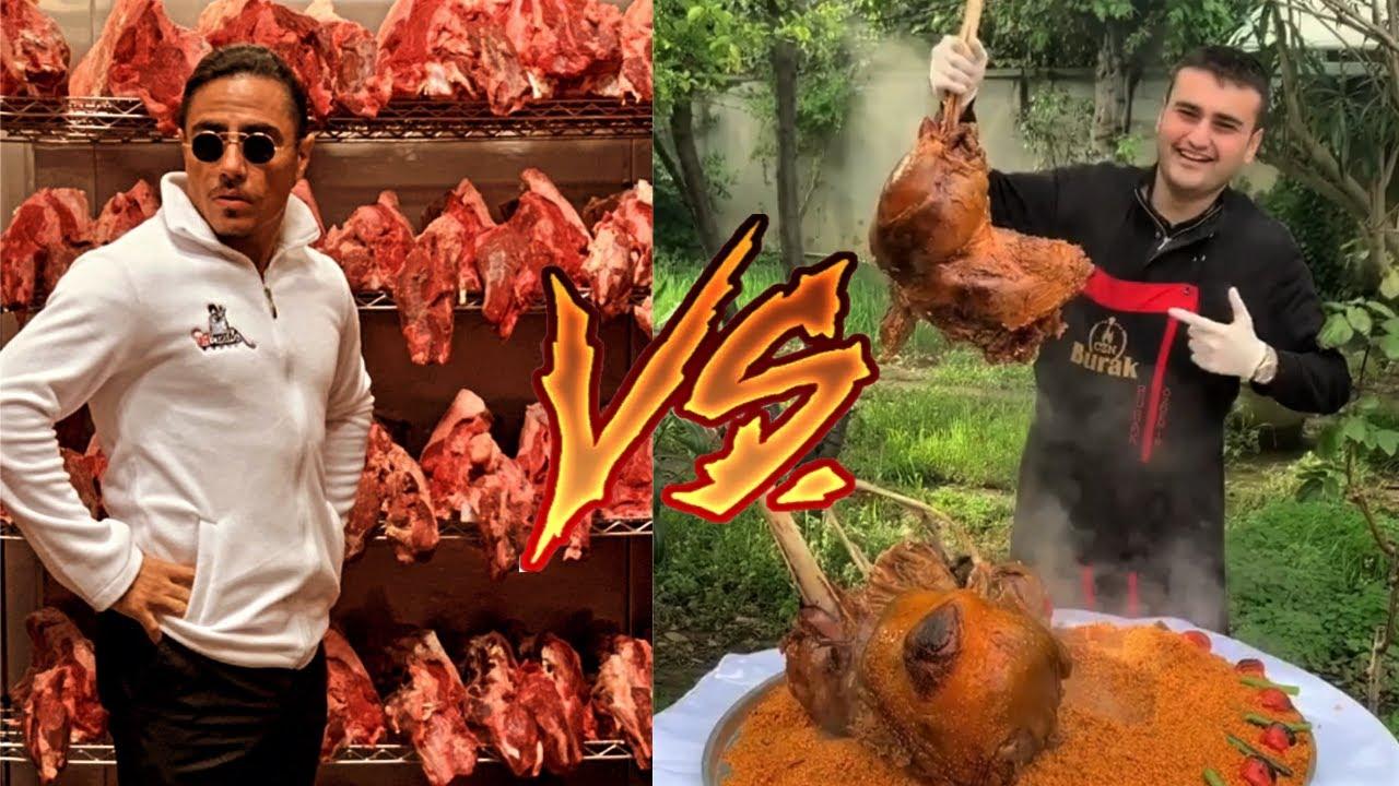 Salt Bae vs CZN Burak – The Meat King vs the Meat Master