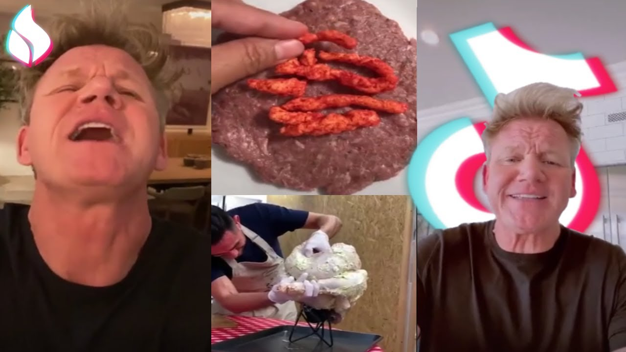 Gordon Ramsay Roasts Bad Chefs Gordon Ramsay Reacts Tik Tok 2020 4