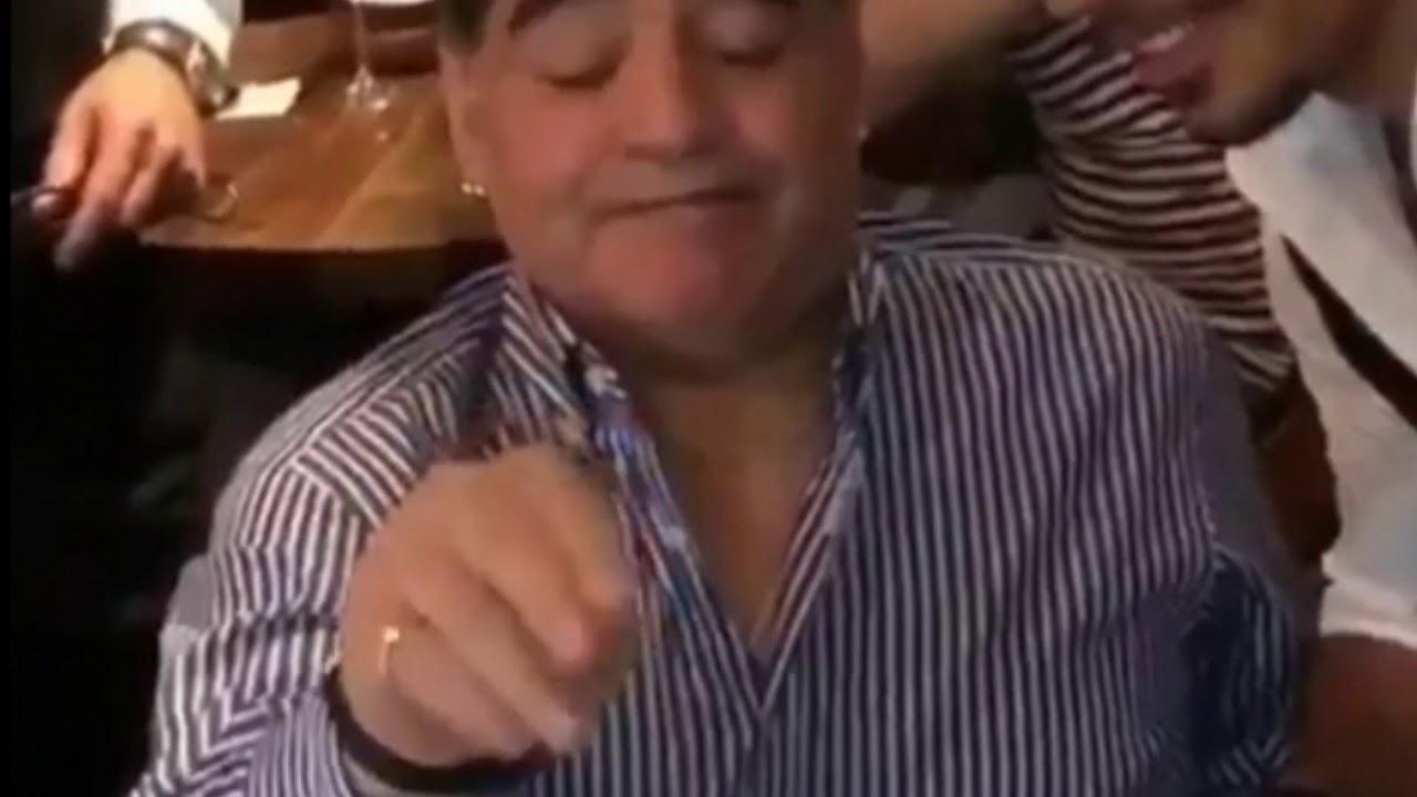 maradona x salt bae