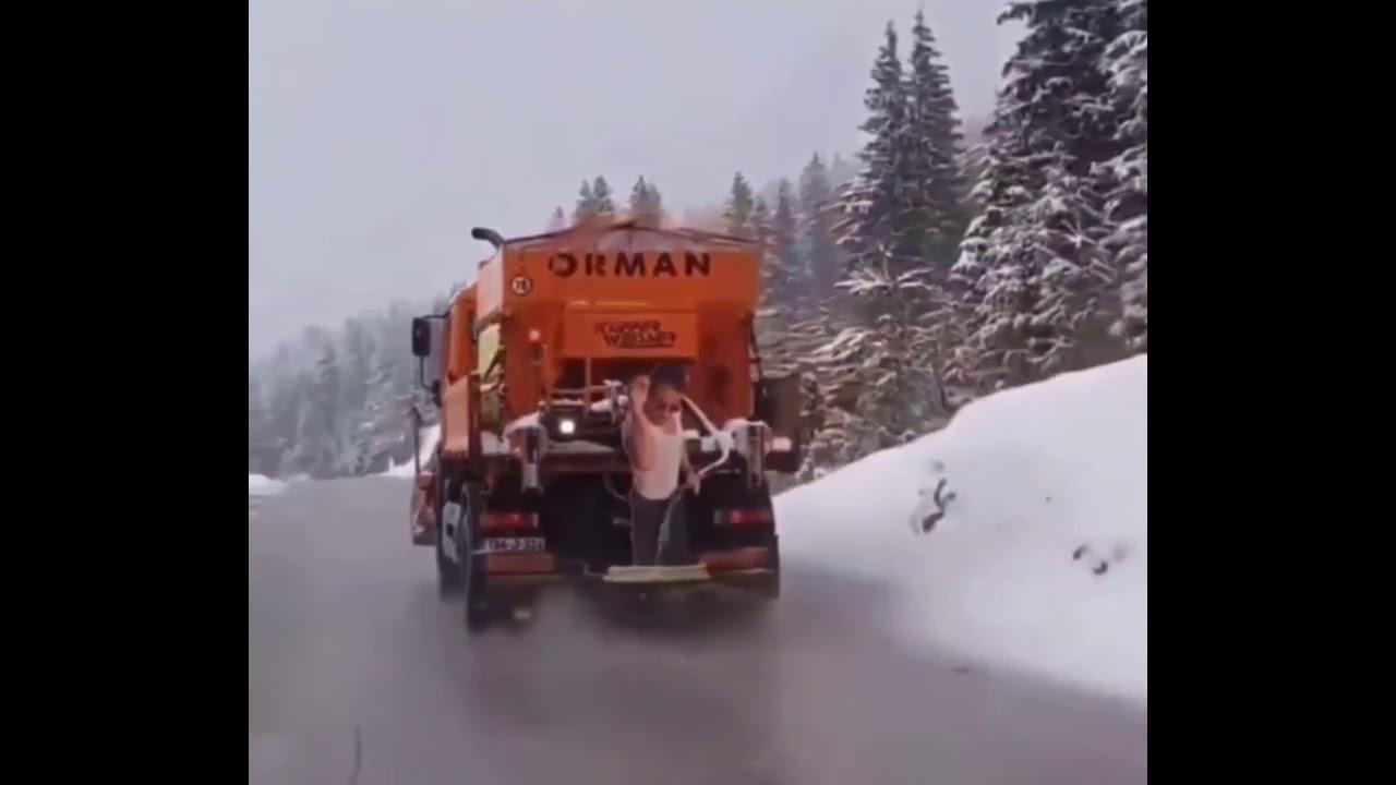 Salt Bae Salting The Roads