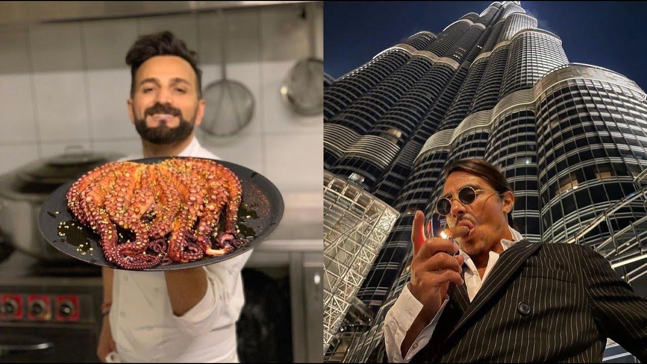 Best cooks in the world 02 SaltBae FarukChef