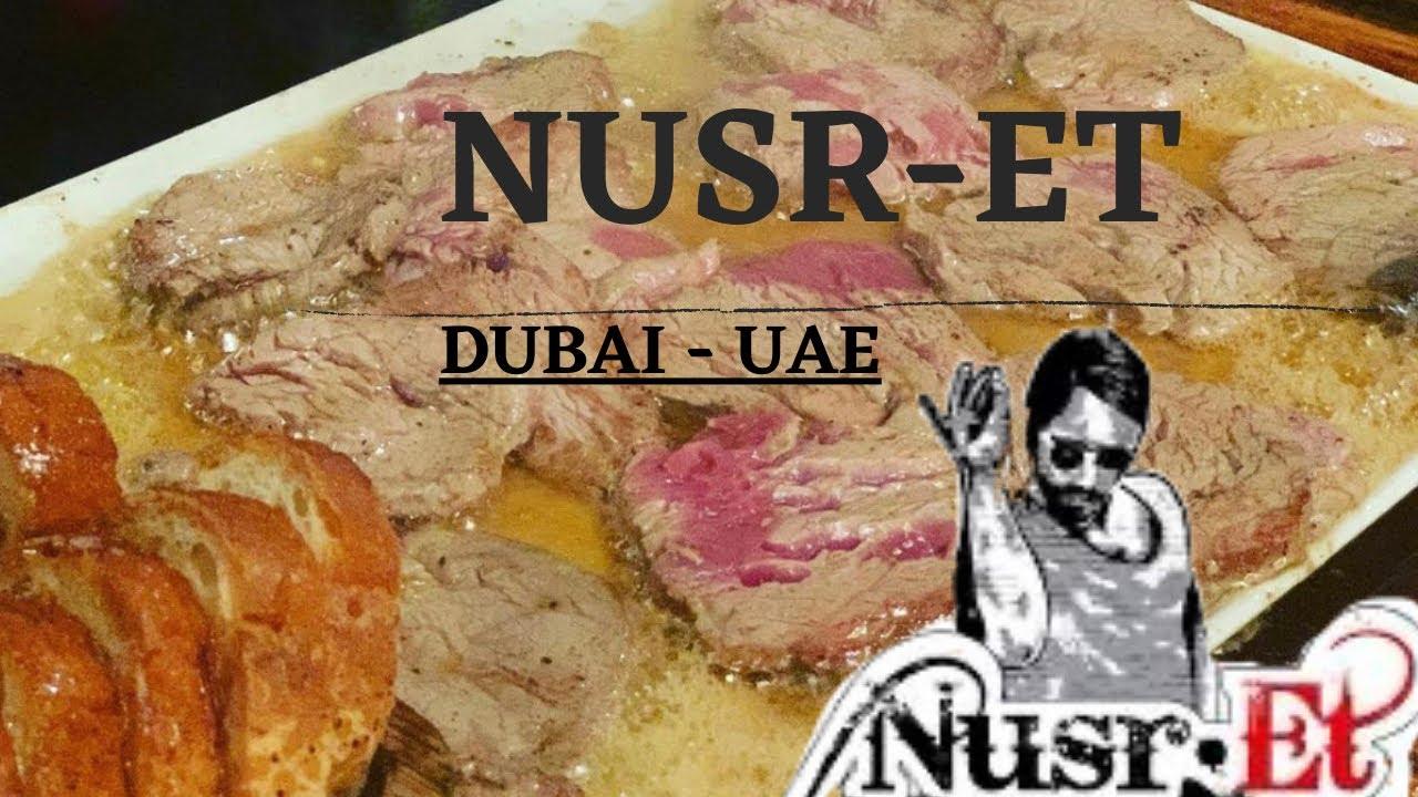 The Salt Bae Dubai Experience Nusr-et Nusr-et Special Nusret Restaurant
