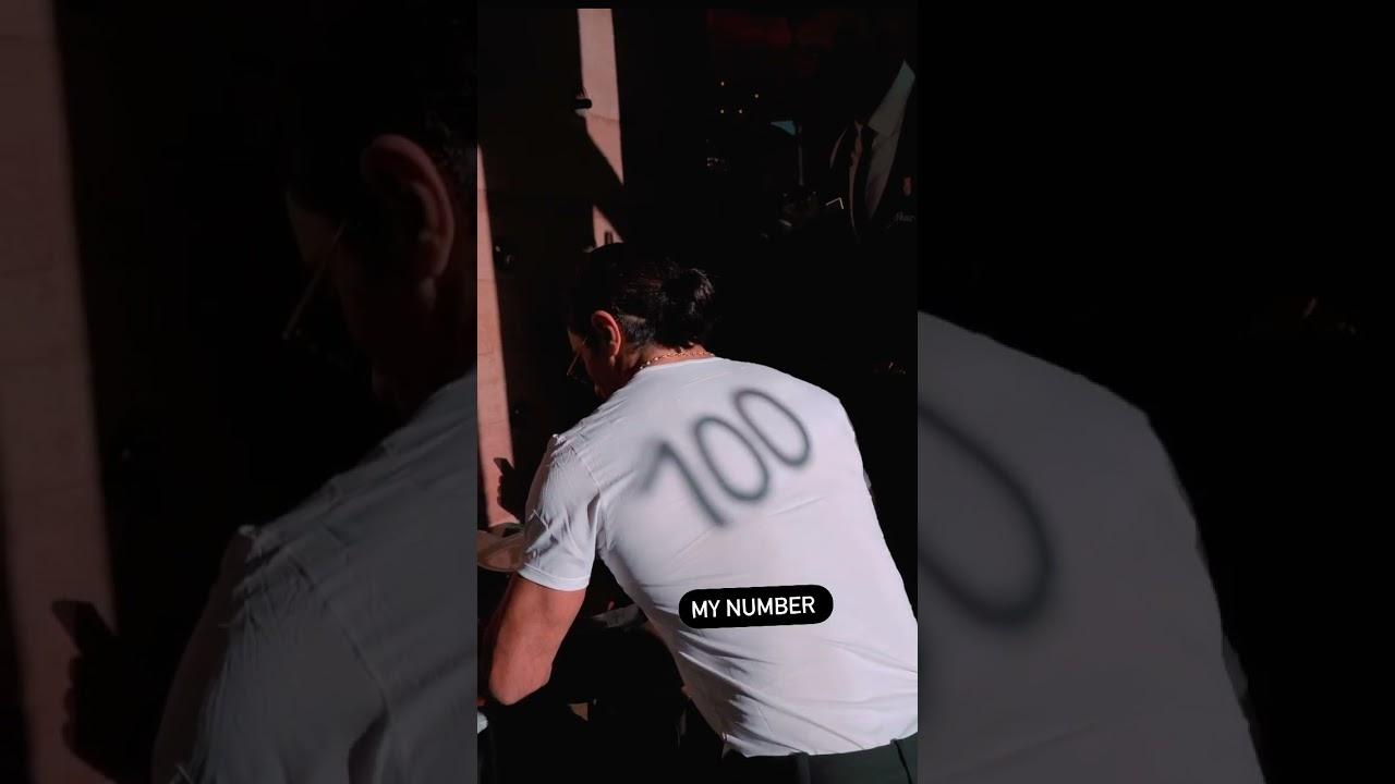 My Number 100 shorts nusret saltbae
