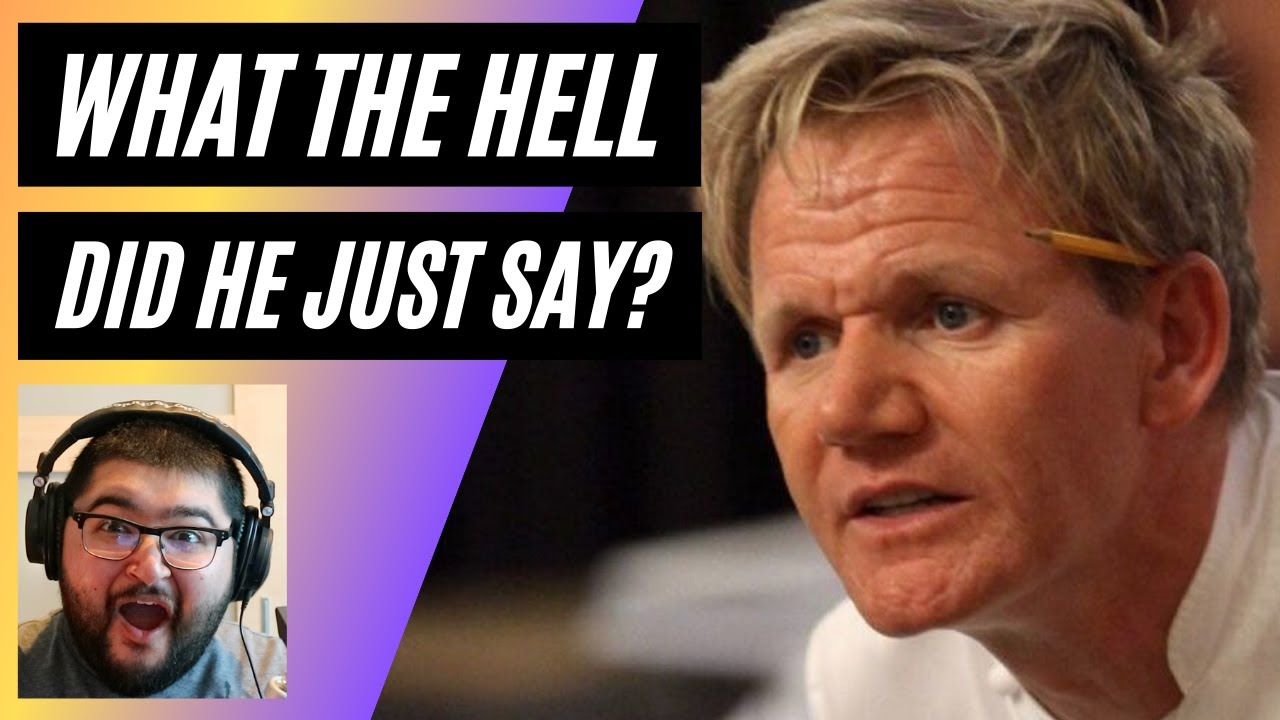 Reacting to Gordon Ramsay Best Insults and Funny Moments