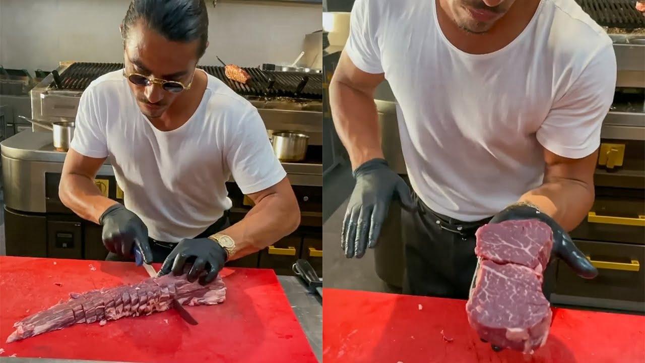 Salt Bae Epic Meat Cutting – Fillet Mignon